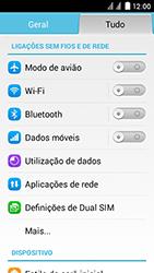 Huawei Ascend Y625 - Internet no telemóvel - Como ativar os dados móveis -  3