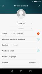Huawei P8 Lite - Contact, Appels, SMS/MMS - Ajouter un contact - Étape 10
