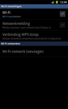 Samsung N7000 Galaxy Note - Wifi - handmatig instellen - Stap 6