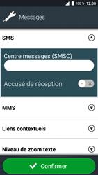 Doro 8035 - SMS - Configuration manuelle - Étape 7