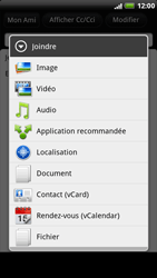 HTC X515m EVO 3D - E-mail - envoyer un e-mail - Étape 8