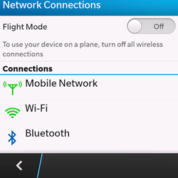 BlackBerry Q10 - Bluetooth - Pair with another device - Step 5