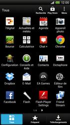 HTC S728e One X Plus - E-mail - Configurer l