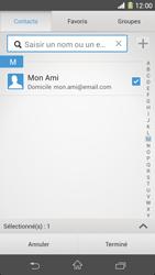 Sony Xpéria Z1 - E-mails - Envoyer un e-mail - Étape 7