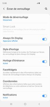 Samsung Galaxy S10 - Sécurité - activéz le code PIN de l'appareil - Étape 5