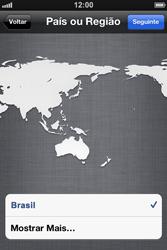 Apple iPhone iOS 5 - Primeiros passos - Como ativar seu aparelho - Etapa 7