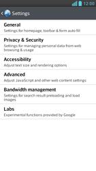 LG D505 Optimus F6 - Internet - Manual configuration - Step 22
