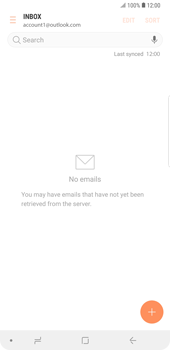Samsung Galaxy Note9 - E-mail - Manual configuration (outlook) - Step 6