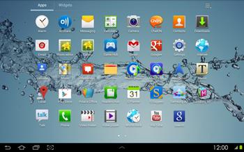 Samsung P5100 Galaxy Tab 2 10-1 - Internet - Internet browsing - Step 2