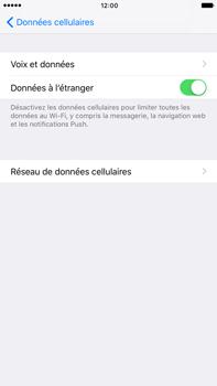 Apple iPhone 7 Plus - Aller plus loin - Désactiver les données à l'étranger - Étape 5