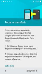 Samsung Galaxy S6 - Primeiros passos - Como ligar o telemóvel pela primeira vez -  8