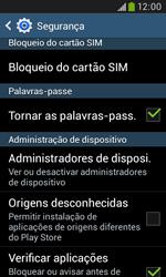 Samsung Galaxy Trend Plus - Segurança - Como ativar o código PIN do cartão de telemóvel -  6