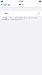 Apple iPhone 6s - iOS 13 - Wifi - configuration manuelle - Étape 3
