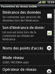 HTC A3333 Wildfire - Internet - Configuration manuelle - Étape 6