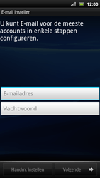 Sony Ericsson Xperia Arc S - E-mail - Handmatig instellen - Stap 6