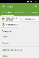 Huawei U8667 - Aplicativos - Como baixar aplicativos - Etapa 6