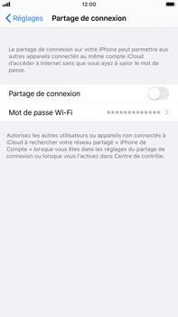 Apple iPhone 8 Plus - iOS 13 - Internet - comment configurer un point d'accès mobile - Étape 6