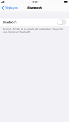 Apple iPhone 8 - iOS 13 - Bluetooth - connexion Bluetooth - Étape 6