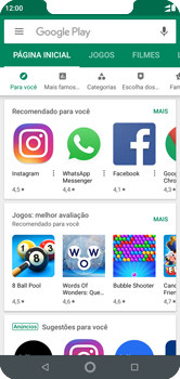 Motorola One - Aplicativos - Como baixar aplicativos - Etapa 4