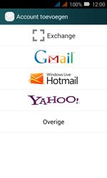 Huawei Y3 - E-mail - Handmatig instellen (outlook) - Stap 5