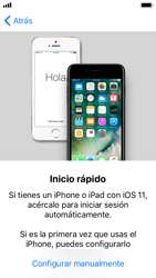 Apple iPhone SE iOS 11 - Primeros pasos - Activar el equipo - Paso 9