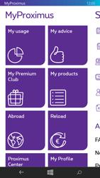 Nokia Lumia 735 - Applications - MyProximus - Step 14