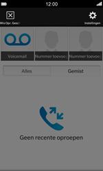 BlackBerry Z10 - Voicemail - Handmatig instellen - Stap 4