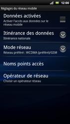 Sony Ericsson Xperia Ray - Internet - activer ou désactiver - Étape 6