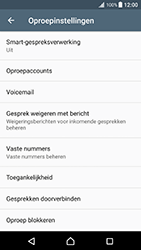 Sony Xperia XZ Premium - Voicemail - Handmatig instellen - Stap 5