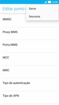 Asus Zenfone 3 - Internet (APN) - Como configurar a internet do seu aparelho (APN Nextel) - Etapa 16