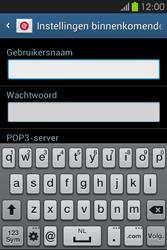 Samsung S6810P Galaxy Fame - E-mail - Handmatig instellen - Stap 8