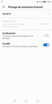 Huawei P Smart - Internet et connexion - Utiliser le mode modem par USB - Étape 9