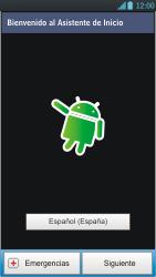LG Optimus L9 - Primeros pasos - Activar el equipo - Paso 4