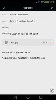 Huawei Mate S - E-mail - e-mail versturen - Stap 15