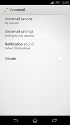 Sony D5803 Xperia Z3 Compact - Voicemail - Manual configuration - Step 6
