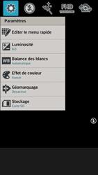 LG Optimus F6 - Photos, vidéos, musique - Créer une vidéo - Étape 6