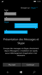 Microsoft Lumia 550 - Contact, Appels, SMS/MMS - Envoyer un SMS - Étape 4