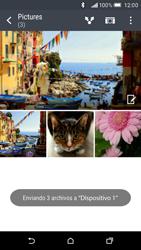 HTC One M9 - Bluetooth - Transferir archivos a través de Bluetooth - Paso 12