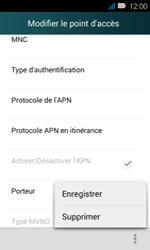 Huawei Y3 - Internet - Configuration manuelle - Étape 16