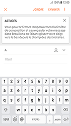 Samsung Galaxy J3 (2017) - E-mails - Envoyer un e-mail - Étape 6
