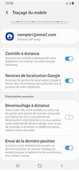 Samsung Galaxy A40 - Appareil - configurer Localiser mon appareil - Étape 9