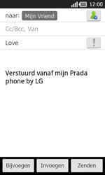 LG P940 PRADA phone by LG - E-mail - e-mail versturen - Stap 7