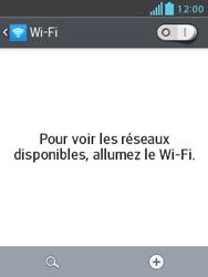 LG E430 Optimus L3 II - Wifi - configuration manuelle - Étape 4