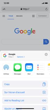Apple iPhone X - iOS 13 - Internet - navigation sur Internet - Étape 16