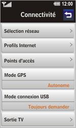 LG GD900 Crystal - MMS - Configuration manuelle - Étape 4
