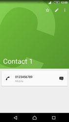 Sony Xperia Z5 - Contact, Appels, SMS/MMS - Ajouter un contact - Étape 9
