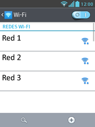 LG Optimus L3 II - WiFi - Conectarse a una red WiFi - Paso 6