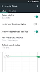 HTC 10 - Internet - Ver uso de datos - Paso 6