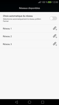 Huawei Mate S - Réseau - Sélection manuelle du réseau - Étape 9