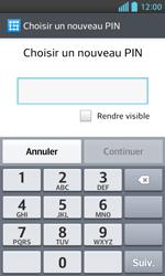 LG Optimus L5 II - Sécuriser votre mobile - Activer le code de verrouillage - Étape 7